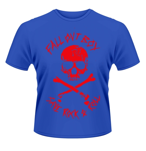 Fall Out Boy T-Shirt SKULL AND CROSSBONES