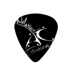 "Fender ""Medium"" Guitar Pick - Delirium Tremens"