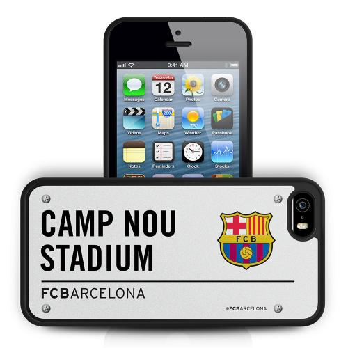 iPhone Cover F.C. Barcelona iPhone 5 / 5S Hard Case 3D SS