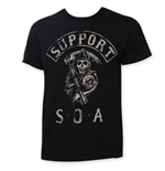 T-Shirt Sons of Anarchy Support SOA