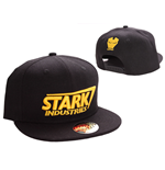 Iron Man Baseball Cap Stark Yellow Logo