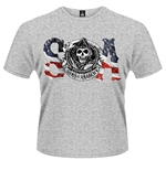 T-Shirt Sons of Anarchy Flag
