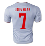 Trikot Atletico Madrid 2014-15 Away (Griezmann 7) für Kinder