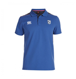 Polohemd Cardiff Blues 2014-2015 Rugby Cotton