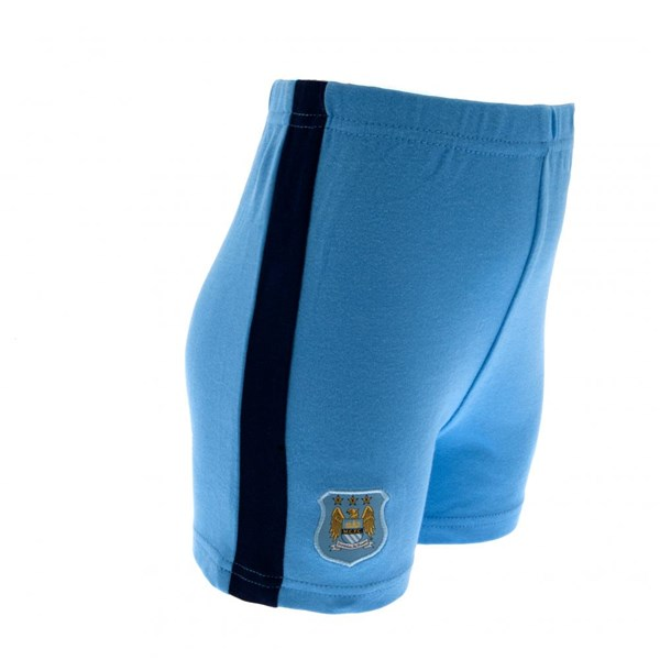 Manchester City F.C. T-Shirt und Short Set 6/9 Monate