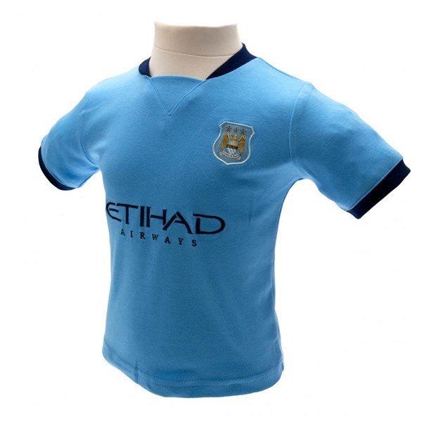 Manchester City F.C. T-Shirt und Shor Set 3/6 Monate