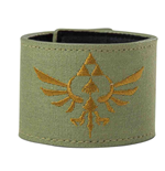 The Legend of Zelda Armband Gold Logo