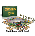 The Legend of Zelda Brettspiel Monopoly