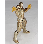 Iron Man Actionfigur Sci-Fi Revoltech #052 Iron Man Mark XXI 16 cm