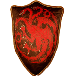 Game of Thrones Plüschkissen Wappen Haus Targaryen 56 cm
