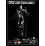 Iron Man 3 Super Alloy Actionfigur 1/12 War Machine Mark II Ver. 2 15 cm
