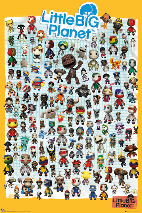 Poster Little Big Planet  128968