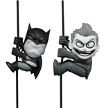 DC Comics Scalers Minifiguren Doppelpack Black & White Batman & Joker SDCC 2014 Exclusive 5 cm
