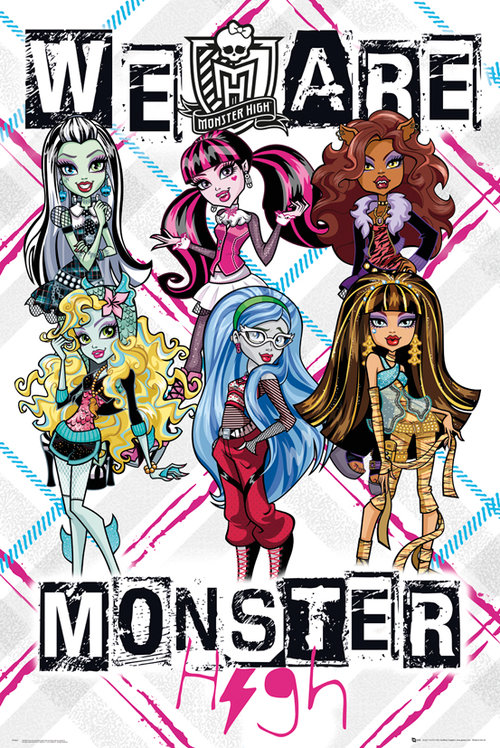 Poster Monster High 129557