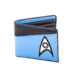 Star Trek Geldbeutel Bifold Science Logo Blue