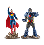 Justice League Minifiguren 2er-Pack Superman vs. Darkseid 10 cm