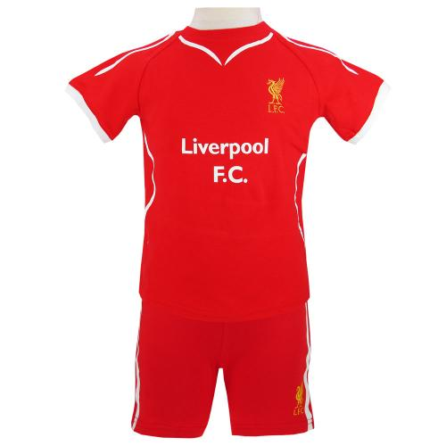 Liverpool F.C. T-Shirt und Short Set 6/9 Monate SW