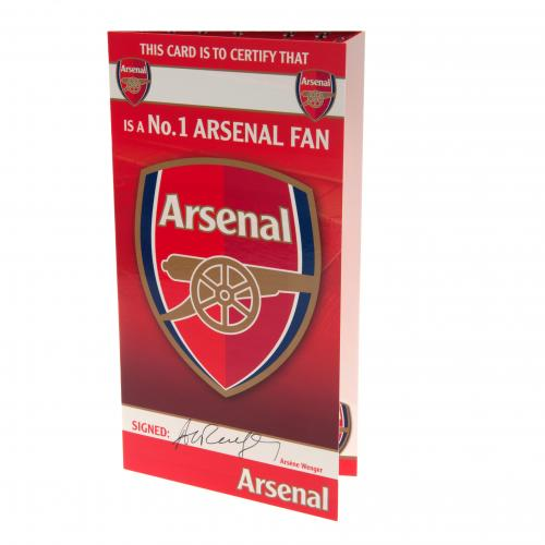 Grußkarte Arsenal 130451