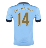 Trikot Manchester City FC 2014/15 Home (Champions 14)