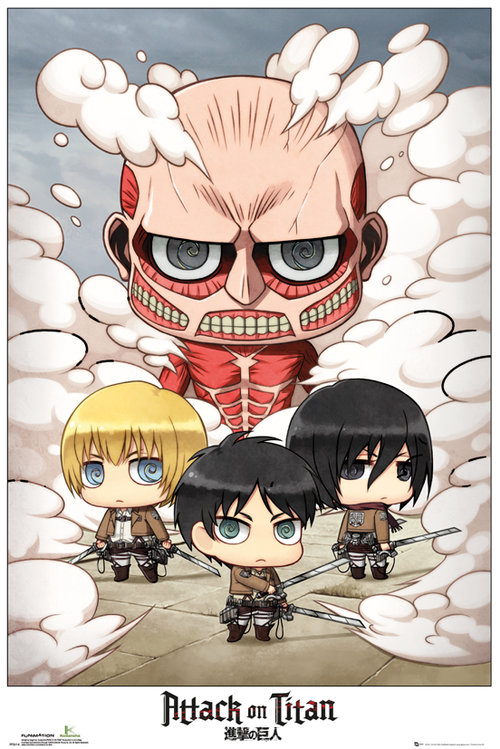 Poster Attack on Titan 131849