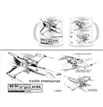 Star Wars Tasse X-Wing