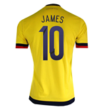 Trikot Kolumbien Home 2015/15 (James 10)