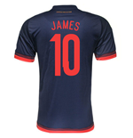 Trikot Kolumbia Fussball Away 2015/16 (James 10)