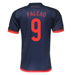 Trikot Kolumbia Fussball Away 2015/16 (Falcao 9)