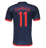 Trikot Kolumbien Fussball Away 2015/16 (Cuadrado 11)