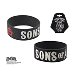 Sons Of Anarchy Gummi Armband Grim Reaper