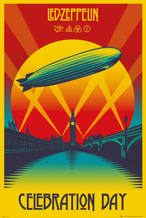 Poster Led Zeppelin Celebration Day
