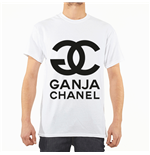 "T-Shirt Entics Motiv  ""GANJA CHANEL"""