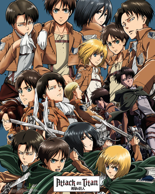 Poster Attack on Titan 133423