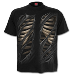 T-Shirt Spiral - Bone Rips