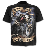 T-Shirt Spiral Shut Up and Ride