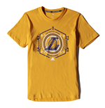 T-Shirt Los Angeles Lakers (Gelb)
