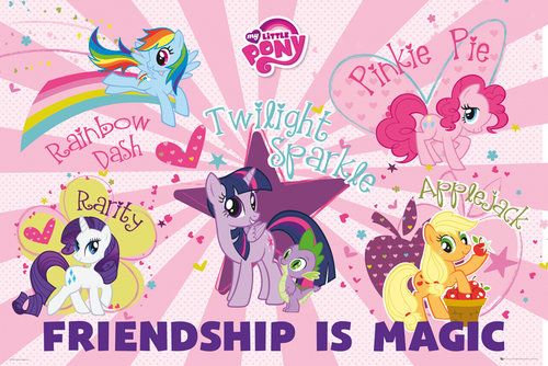 Poster My little pony 135923