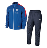 Trainingsanzug Holland Fussball 2015-2016 (Blau)
