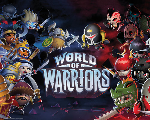 Poster World of Warriors 137120