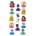 Sailor Moon Petit Chara Pretty Soldier Sammelfiguren 6 cm You´re Punished Glitter Ver. Sortiment (6)