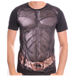 T-Shirt DC COMICS Batman The Dark Knight Uniform Sublimation - M