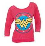 langärmeliges T-Shirt Wonder Woman für Frauen