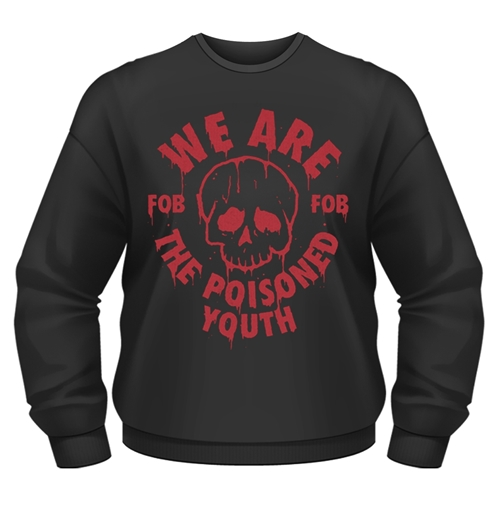 Sweatshirt Fall Out Boy The Poisoned Youth in schwarz