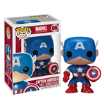 Marvel Comics POP! Vinyl Wackelkopf-Figur Captain America 10 cm
