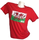 T-Shirt Galles Rugby 139314