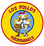 Breaking Bad Teppich Los Pollos Hermanos 90 x 90 cm