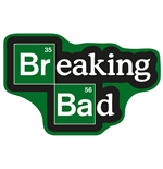 Breaking Bad Teppich Logo 85 x 55 cm