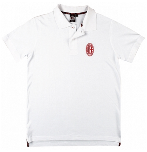 Polohemd AC Milan in weiss