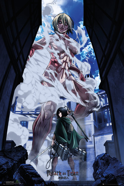 Poster Attack on Titan Part 2 Art