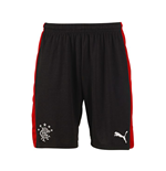 Shorts Rangers f.c. 2015-2016 Away (Schwarz)